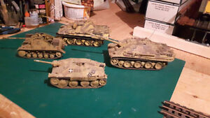 1/35 WWII German Vehicles Assembled & Painted  Lot