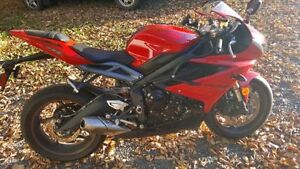 TRIUMPH Daytona 675 2015 for sale with all Accessories
