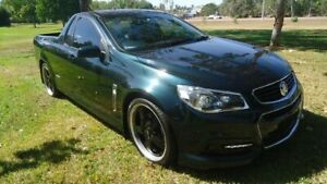 2013 Holden Ute VF MY14 SS Ute Green 6 Speed Sports Automatic Utility Winnellie Darwin City Preview
