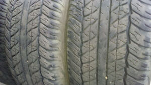 Save big!4 truck tires Dunlop P265/65R17 $180 for all4 60%left