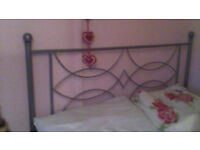 double divan bed and memory foam mattress in very good clean condition