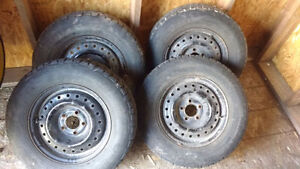 Set of 4 Caravan Rims