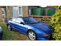 TOYOTA MR2 GT TBAR - car runs just needs MOT and some bodywork - great easy project