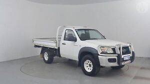 2008 Mazda BT-50 B3000 DX (4x4) Cool White 5 Speed Manual Cab Chassis Perth Airport Belmont Area Preview