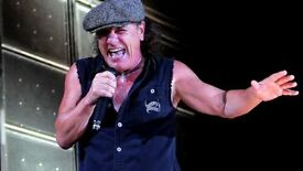 "Wanted a "" Brian Johnson"" for part time EU gigs"