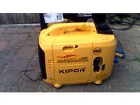 kipor ig2000 petrol inverter generator brand new never been used.