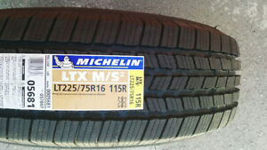 NEW 4 x LT 225/75R16 Michelin LTX MS2 (115/112R) 100% tread