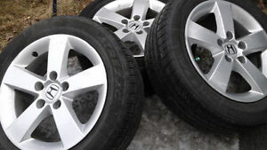 205/55 R 16 summer tires with HONDA CIVIC rims