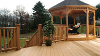 We have all your decking needs with composite GeoDeck!