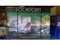 FocalPoint Piano gas fire - brand new in box
