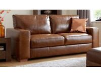 Huntington 3 Seater Sofa & Chair 100% Leather - Littlewoods £1498