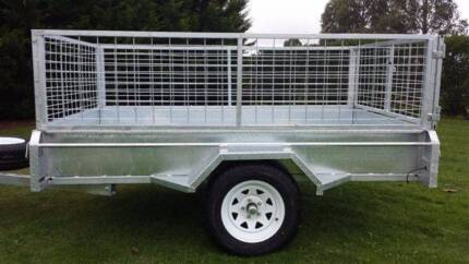 8x5 Heavy duty box trailer, 12 months rego Safety Bay Rockingham Area Preview