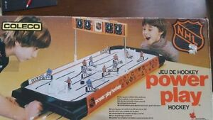 Vintage Coleco Power Play Hockey