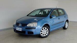 2006 Volkswagen Golf V Comfortline Blue 5 Speed Manual Hatchback Hobart CBD Hobart City Preview