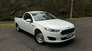 2015 Ford Falcon FG X Extended Cab White Semi Auto Cab Chassis Springwood Logan Area Preview