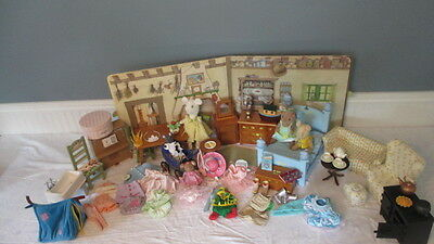 LARGE LOT AMERICAN GIRL ANGELINA BALLERINA COMPLETE STORY BOOK COTTAGE & EXTRAS