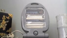 HALOGEN 2 BAR HEATER 400-800 WATT FOR OFFICE OR SMALL ROOM OR CARAVAN