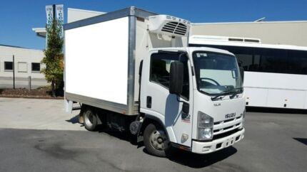 2008 Isuzu NLR200 SWB White 5 SPEED Manual REFRIGERATED PA Varsity Lakes Gold Coast South Preview