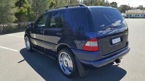 2001 Mercedes-Benz ML W163 320 (4x4) Blue 5 Speed Auto Tipshift Wagon Revesby Bankstown Area Preview