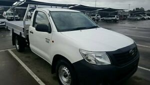 2012 Toyota Hilux White Automatic Cab Chassis Dandenong Greater Dandenong Preview