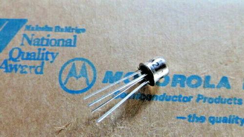 3N211 MOTOROLA MOSFET 3N201, 40673 EQUIV. 4-Pin New Old Stock USA SELLER 1 Piece