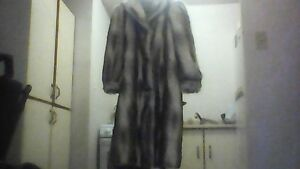 Ladies Faux full length fur Coat!