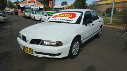 2003 Mitsubishi Magna TJ Executive White 4 Speed Auto Sports Mode Sedan Woodbine Campbelltown Area Preview