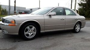 2001 Lincoln LS LEATHER, SUNROOF, VERY GOOD SHAPE, 146 KMS