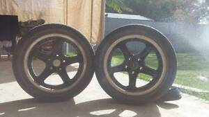 Selling two 17 inch rims $20. Will swap for 15'' stockies. Adelaide CBD Adelaide City Preview