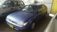 1996 Toyota Corolla AE101R CSi Seca Blue 4 Speed Automatic Liftback Georgetown Newcastle Area Preview