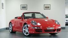 2007 Porsche 911 Carrera 997 MY07 4S Red 6 Speed Manual Cabriolet Artarmon Willoughby Area Preview