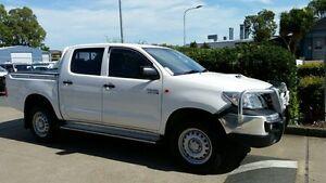 2014 Toyota Hilux KUN26R MY14 SR Double Cab Glacier White 5 Speed Automatic Utility Acacia Ridge Brisbane South West Preview