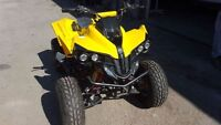 ATV like new not used 125cc Daymak Gas powered