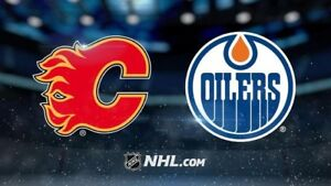 Oilers vs Flames tickets for Sept. 17th