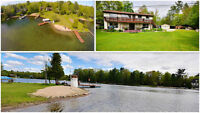 Washago: Waterfront, 200 ft. on The Green River Propertyguys.com
