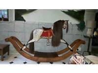 Antique Bow Rocking Horse