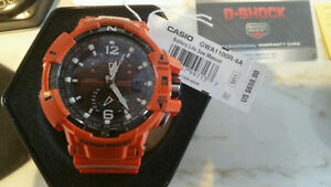 G shock AUTHENTIC MODÈLE GWA-1100r-4a