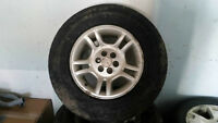 set of 4 (245/70R16) tires
