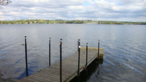 July 6-13 Lake Chemong 3 Bedroom Cottage on the Water with Dock
