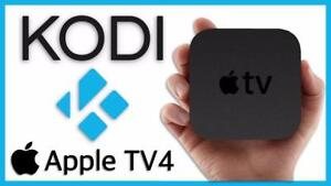 Apple Tv 4 with Fully Programmed Kodi (XBMC) Ajax pick up