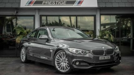2014 BMW 428i F32 Luxury Line Grey 8 Speed Automatic Coupe Bowen Hills Brisbane North East Preview