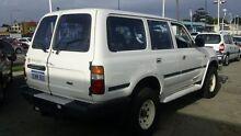 1993 Toyota Landcruiser HZJ80R Standard White 5 Speed Manual Wagon Victoria Park Victoria Park Area Preview