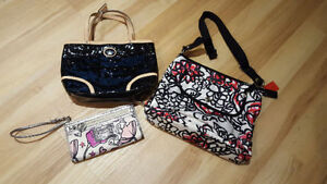 Coach Bag, Purse, and Wristlet (Various Prices)