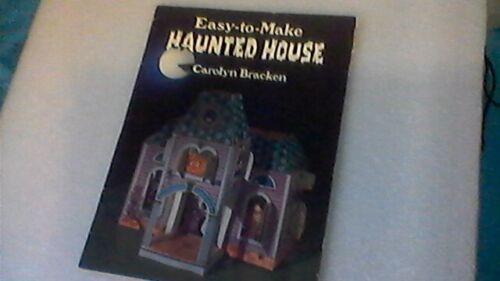 Vintage   Haunted House Halloween Centerpiece popup cut & assemble