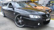 2004 Holden Commodore VZ SS Black 6 Speed Manual Utility Homebush Strathfield Area Preview