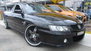 2004 Holden Commodore VZ SS Black 6 Speed Manual Utility