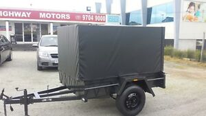 6x4 camping trailer with a 900mm High cage & Tonneau Cover Narre Warren Casey Area Preview