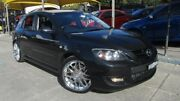 2008 Mazda 3 BK MY08 MPS Sports Pack Black 6 Speed Manual Hatchback Homebush Strathfield Area Preview