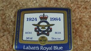 Labatt Beer labels blue jays knights JLC RCAF D-DAY London Ontario image 10