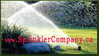 Automatic Lawn Sprinkler system. From $39.99 per head.
